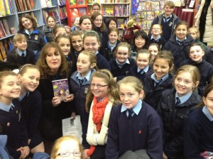 Kilkenny The Book Centre with 5th class Pres Girls 5 Dec 12