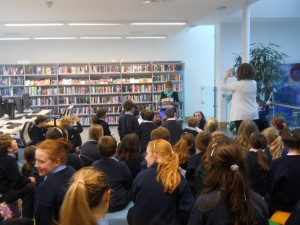 Super Writers Club at Montmellick Library 23 Oct 12
