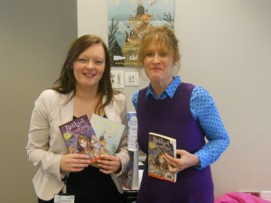 9 Oct 2012 Mullingar Library - Cailin and Maura