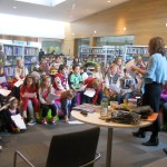 'Gorey' writing tips in Gorey library, Wexford 31 Oct 2012