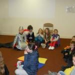 Happy Howwwwloweeen in Bunclody library 31 Oct 2012