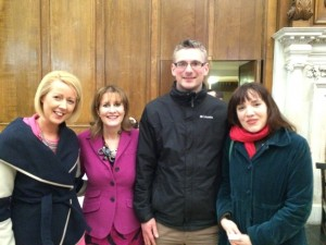 Trinity Bookmarks 2015 Finale with Fidelma Sweeney, Eoin Kenny, Our Lady of Good Counsel and Hannah Maguire