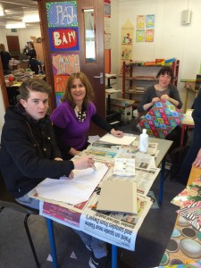 Bookmarks 2015 - binding at Our Lady of Lourdes