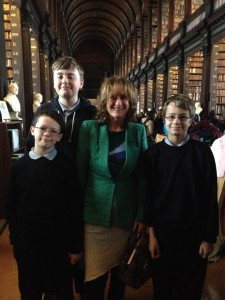 Trinity Bookmarks Finale with St Endas 2 April 14